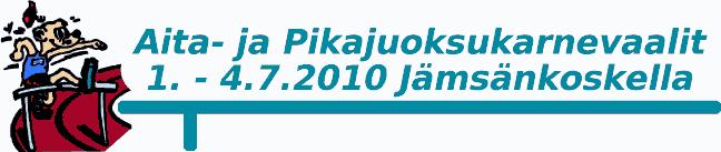 Aita- ja Pikajuoksukarnevaalit Jämsänkoskella